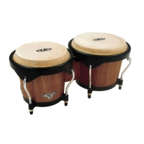 Latin Percussion CP221DW CP Bongos in Dark Wood