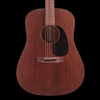 Martin D15M 15-Series Mahogany Dreadnought Body with Case