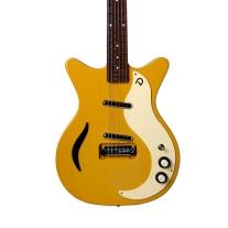 Danelectro D59M Spruce Semi Hollow Electric Guitar In Buttercup