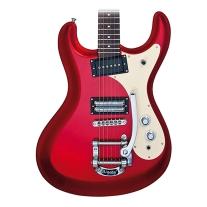 Danelectro '64 MOSRITE-Style Electric Guitar Red Metallic
