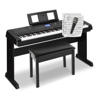Yamaha DGX-660 Portable Grand Digital Piano Home Holiday Bundle - Black