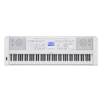 Yamaha DGX-660 Portable Grand Digital Piano - White