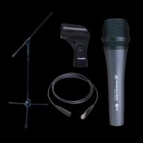 Dynamic Microphone Bundle- Sennheiser E835 Boom Stand and XLR Cable!