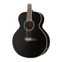 Dean EAB 4 String Acoustic/Elec Bass Guitar in Black