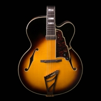 Dangelico Excel EXL-1 Archtop in Vintage Sunburst Finish with Hard Case