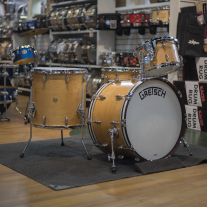 Gretsch Broadkaster 4pc Drum Kit in Satin Classic Maple