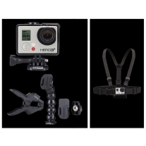 GoPro Hero 3 Plus Music Edition and GoPro Chest Mount
