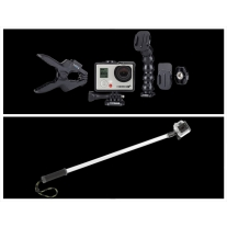 GoPro Hero 3 Plus Music Edition and GoPole Evo Extension Pole