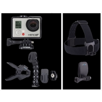 GoPro Hero 3 Plus Music Edition and GoPro Head Strap and Quickclip Mount