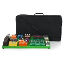Gator Cases GPB-XBAK-GR Extra Large Aluminum Pedal Board, Screamer Green