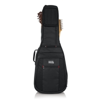Gator G-PG-ACOUELECT Pro-Go Series Double Guitar Bag Acoustic and Electric Guitar
