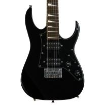 Ibanez GRGM21BKN Mikro 3/4th Size Aimm LTD Electric Guitar