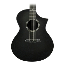 Composite Acoustics GX with Electronics HG Carbon Burst with Gig Bag