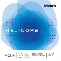D'Addario Helicore Violin Set Strings 4/4 Size Heavy