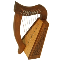 "Mid East Percussion LILY HARP KNOTWORK 8 STRINGS 15"" HIGH ****BLEMISHED****"