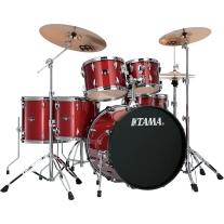 Tama IP62CCPM Imperialstar 6-Piece Ready to Rock Drum Kit - Candy Apple Mist
