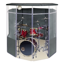 Clearsonic Isopacb Complete Enclosed Sound Room for Drummers