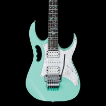 Ibanez JEM/UV Steve Vai Signature Electric Guitar in Sea Foam Green