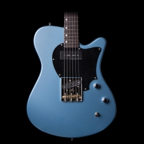 John Page AJ Electric Guitar In Pelham Blue with Gig Bag