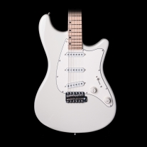 John Page Classic Guitar Maple Neck - Olympic White w/ Gigbag
