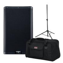 "QSC K10.2 10"" Two Way 2000W Powered Loudspeaker Bundle"