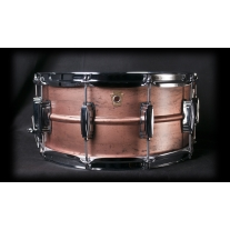Ludwig Copperphonic 14x6.5 Snare Drum w/ Raw Patina Finish and Imperial Lugs