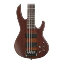 ESP LTD D5 Natural Satin 5 String Bass