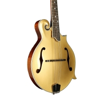 Eastman MD415 Gold Top F-Style Mandolin with Mahogany Band and Sides