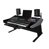 Sterling Modular Three Bay Multi-Station Console - Keyboard Composer Desk