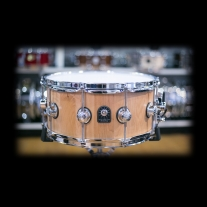 Natal Pure Maple Stave 6.5x14 Snare Drum in Natural Beeswax Finish