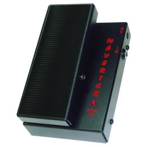 Morley MSW Maverick Mini Switchless Wah Guitar Effects Pedal Black