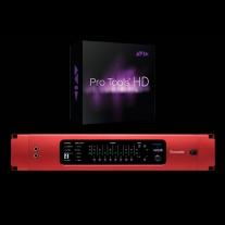Focusrite RedNet 4 8-Channel Microphone / Line AD ProTools HD Bundle