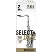 D'ADDARIO Select Jazz Tenor Saxophone Reeds 5-Pack Filed 2 Hard Strength