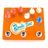 Analog Alien Rumble Seat Overdrive / Delay / Reverb Pedal