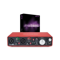 Focusrite Scarlett 2i4 (2nd Gen) New 2016 w/ Pro Tools 12 Full Version