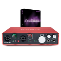 Focusrite Scarlett 6i6 (2nd Gen) New 2016 w/ Pro Tools 12 Full Version