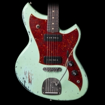 Novo Serus J Electric Guitar in Seafoam Green Over '64 3-Tone Sunburst
