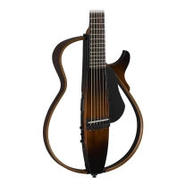 Yamaha 2015 Nylon String Silent Guitar Tobacco Sunburst