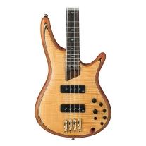 Ibanez SR1400EVNF Soundgear 4-String Vintage Natural Flat Bass Guitar