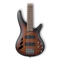 Ibanez SR30TH5 5 String SR Premium Series Electric Bass Natural Brown Burst