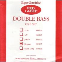Red Label SS8107 Super Sensitive Medium 3/4 Bass Strings