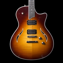 Taylor T3 Semi Hollow Electric Guitar with Flame Maple Top in Tobacco Sunburst