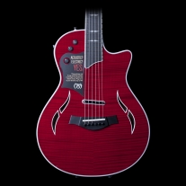 Taylor T5Z Pro Hollow-Body Hybrid Electric Acoustic Guitar in Borrego Red
