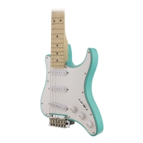 Traveler Travelcaster Deluxe with Gig Bag - Surf Green