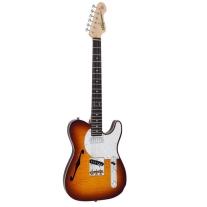 Vintage Icon Custom Spec TL V72FTB Flamed Tobacco Burst Guitar