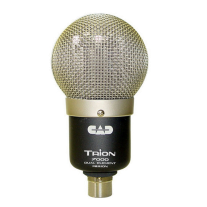 CAD Trion 7000 Dual Element Ribbon Microphone