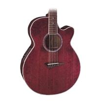 Dean Performer E Acoustic/Elec Guitar in Trans Red