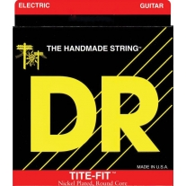 DR Strings Tite-Fit MH-10 Medium-Heavy Nickel-Plated Electric Guitar Strings