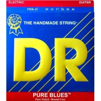 Dr Strings 2PHR10 Pure Blues Electric Guitar Strings 10-46