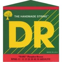 DR Strings 3RPML11 Rare Phosphor Bronze AcousticHex Core